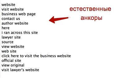 после анализа только первого сайта мы получаем уже такие варианты