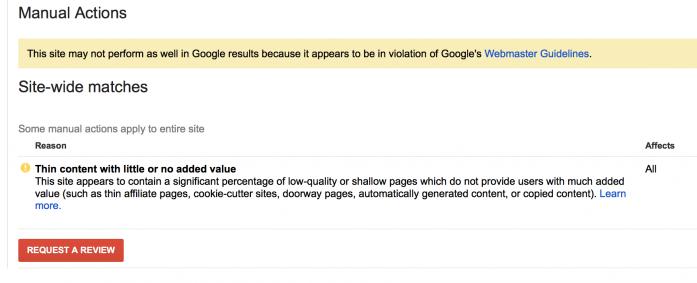 Когда Google присылает такие сообщения