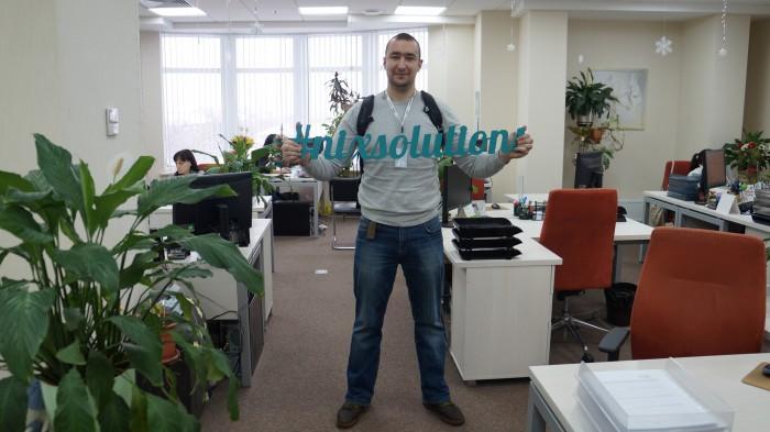 Виктор Карпенко с хэш тегом nix solutions