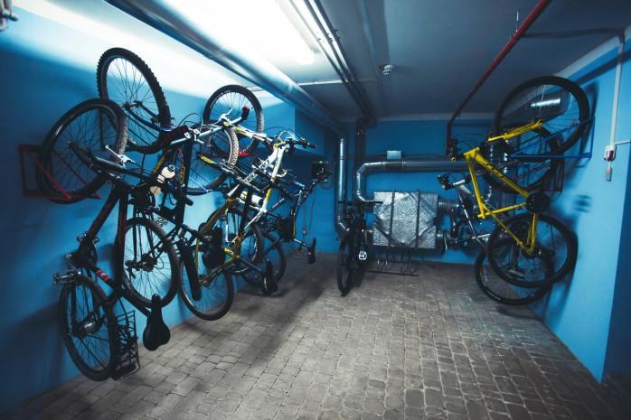 вело парковка в офисе nix solutions