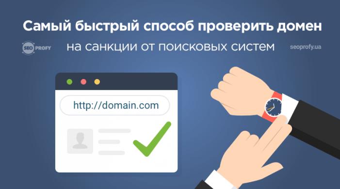 Самый быстрый способ проверить домен на санкции поисковых систем
