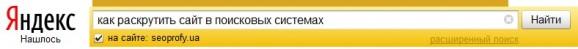 Яндекс Как найти дубликаты страниц на сайте строка поиска