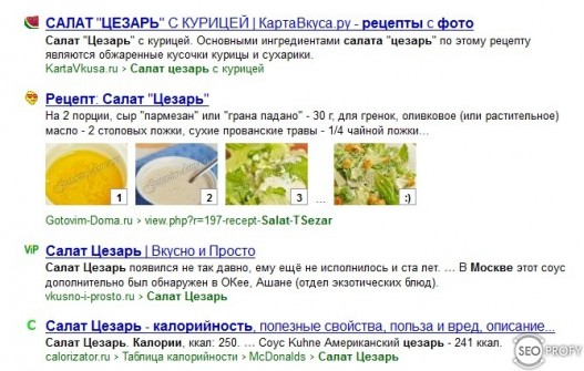 семантическая разметка в Яндекс