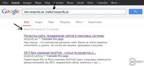 Что такое сопли Google или supplemental results