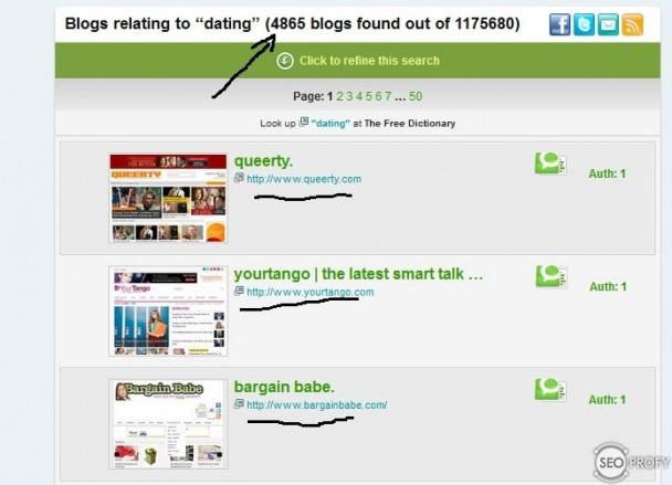поиск блогов на technorati.com