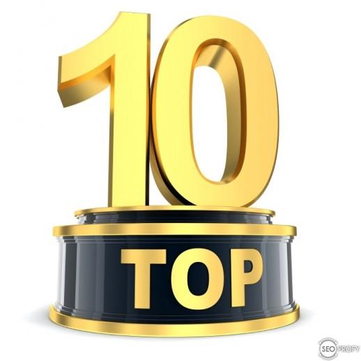 ТОП 10 статей на SeoProfy за 2013 год