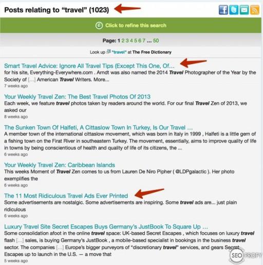 поиск тем на западных блогах