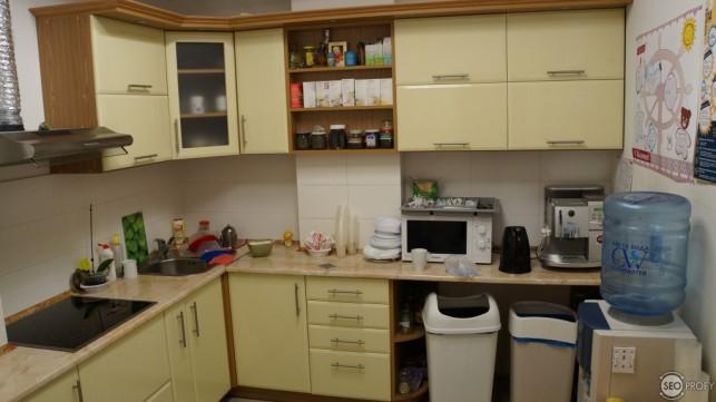 кухня офиса rabota.ua