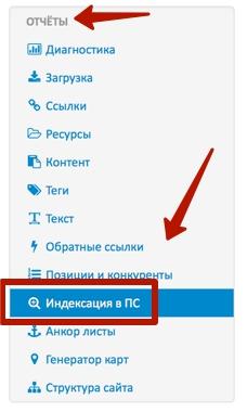 отчет проверки в saitreport.ru