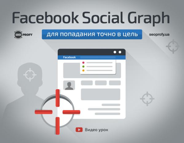 Используем Facebook Social Graph для попадания точно в цель – видео урок