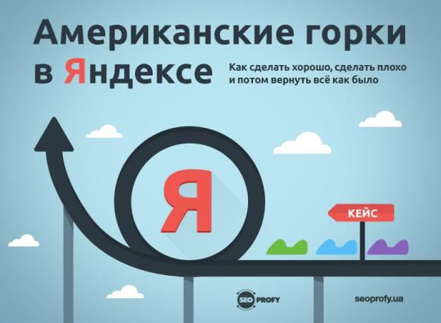 Кейс: Американские горки в Яндексе