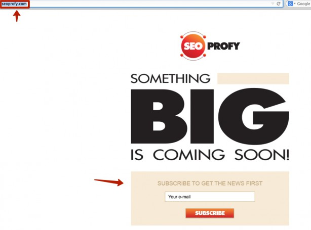 seoprofy.com заглушка