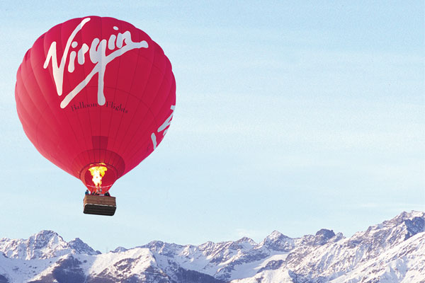 Ричард Брэнсон вокруг мира на воздушном шаре