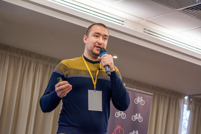 Выступление на конференции День Контент Маркетинга 2015