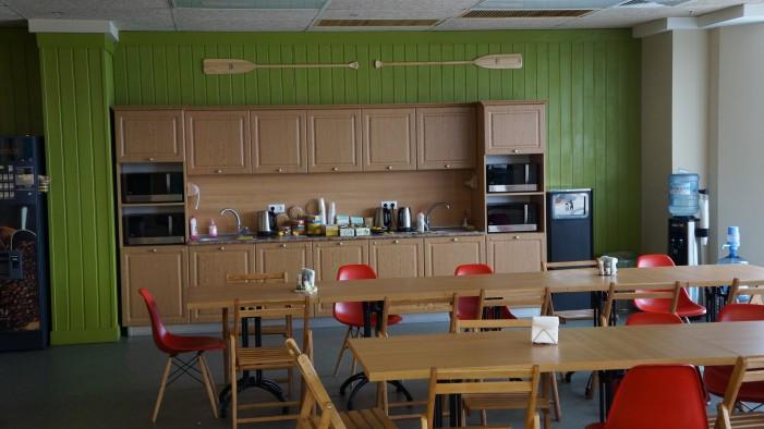 кухня офиса nix solutions