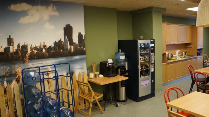 кухня в офисе nix solutions