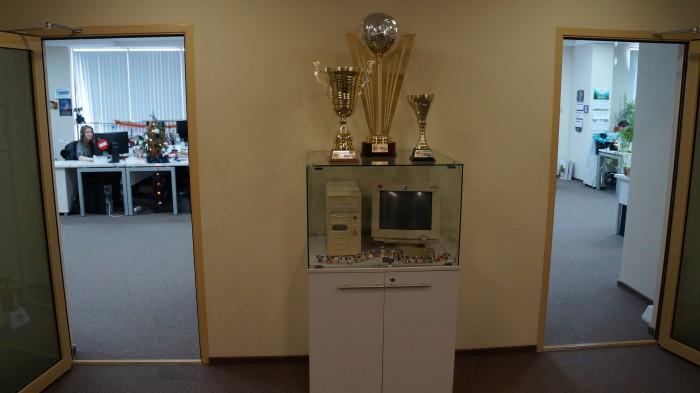 Первый компьютер в Nix Solutions