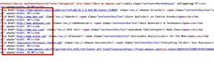 ссылки на нишевые сайты - код