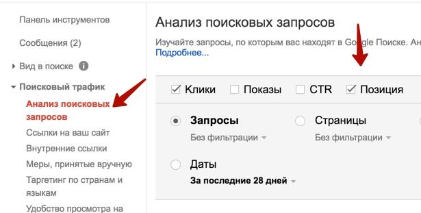 Google Search Concole