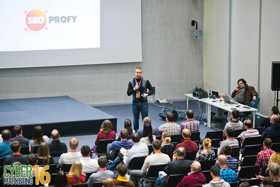 Доклад на конференции Cybermarketing 2016