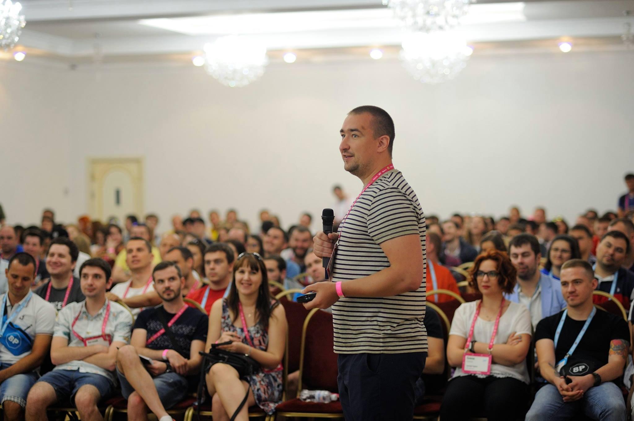 Доклад на конференции 8P 2017 в Одессе