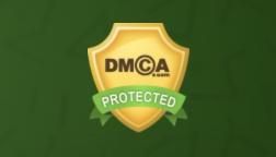 Бейдж от dmca.com на сайте