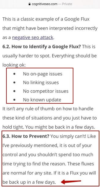 Там говорится про Google Flux, если кратко, то